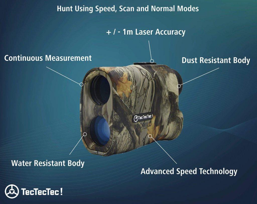 tectectec prowild hunting rangefinder details
